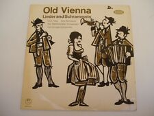 IN OLD VIENNA - GRIZINGER SCHRAMMELN / IRENE PATEZ - Austria LP