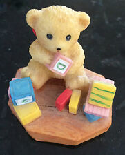 Teddy Playing With Blocks Ornament