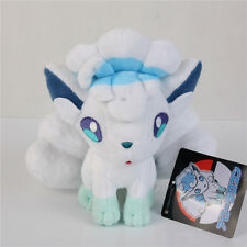 "Pokemon Center Alolan Alola Vulpix stuffed Plush toy doll Limited 8"" US SHIP"