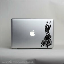 SEXY BELLY DANCER mac apple laptop skin decal sticker
