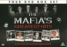 THE MAFIA'S GREATEST HITS - 4 DVD BOX SET - FBI'S SECRET FILES