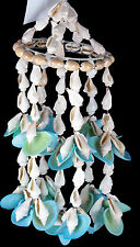 Pretty Soft Blue 23cm Shell Mobile Hanging Decorative Chime