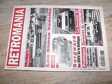 µµ Retromania n°36 Simca Vedette Borgward Renault 30 Epreuve regularité