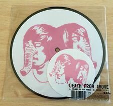 """Death Form Above 1979 - Blood On Your Hands 7"""" Picture Disc & Stickers"""