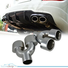 Mercedes Benz C Class W204 Exhaust Tip Tail Pipe Double C63 C350 ●