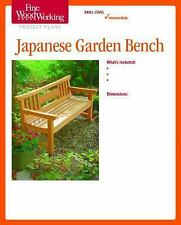 Fine Woodworking's Japanese Garden Bench Plan by Fine Woodworking Magazine...