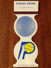 NBA Indiana Pacers 1982-83 1983 Matchbook Cover Basketball Universal Match!!!