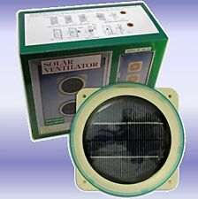 Solar Powered Ventilator Ideal for Use in Caravans / Mobile Homes / Boats etc