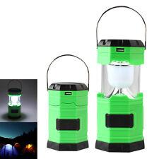500lm solaire 8 LED Flashlight Lampe d'extérieur Lanterne de camping