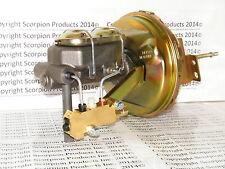 """GM Delco 9"""" Power Brake Booster Master Cylinder Disc/Drum Chevelle Camaro Nova"""