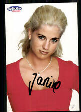 Janine Big Brother Schweiz Autogrammkarte Original Signiert ## BC 7066