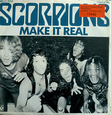 "7"" 1980 Rock RARE IN MINT -! Scorpions: make it real"