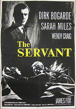 THE SERVANT 1963 British 1 sheet poster Dirk Bogarde Harold Pinter Joseph Losey