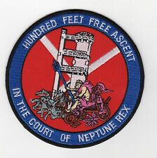 Submarine Escape Tower - Hundred Feet Free Ascent - BC Patch Cat No C6725