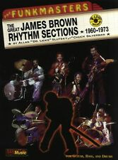 Funkmasters James Brown Rhythm Sections Play Bass Guitar Music Book
