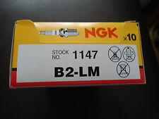 NGK b2lm Sparkplugs Confezione da 10 Candele/Buon Per Briggs Stratton Tosaerba Motori