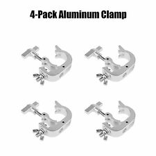 4 x O Clamp Hook Bracket Truss Security Kit for Stage Lighting Fit Pipe 28- 32mm