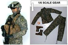 BBI U.S. Army 10th Mountain Div. Lucas ACU Camo BDUs + More - NR Dragon 1/6