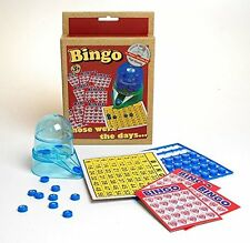 NEW BINGO GAME WITH CARDS TOKENS FAMILY FUN GAME ACKERMAN