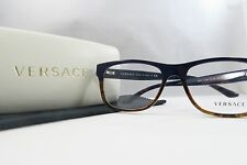 Versace MOD. 3199 5118 Dark Blue/Havana New Authentic Eyeglasses 55mm w/Case