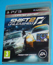 Need for speed Shift 2 Unleashed Limited edition - Sony Playstation 3 PS3 - PAL