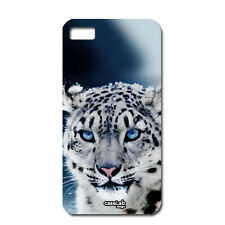 CUSTODIA COVER CASE LEOPARDO NEVE SNOW PER iPHONE 5 5S S
