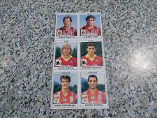 FOGLIO 6 FIGURINE ALLEGATO album CALCIATORI PANINI 1990-91 1991 ORIGINALE NUOVO