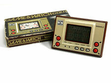Nintendo Game & Watch Gold Series Manhole MH-06 Boxed MIJ 1981 Free Postage!