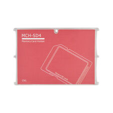 4 SD Holder Memory Card Protective Storage Case Write/Label Rose Holder