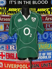 3.5/5 Ireland adults XL rare retro rugby union shirt jersey