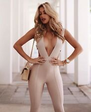 ⭐️ROBYN⭐️ Plunge Bandage Jumpsuit Sizes 6-14