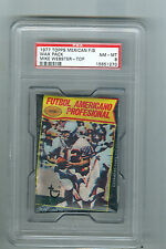 1977 Topps Football Mexican  Wax Pack MIKE WEBSTER Rookie on Top Steelers  PSA 8