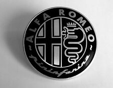 Custom Black Pininfarina Alfa Romeo Badge Repair Kit