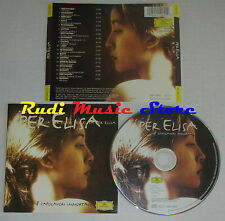 CD PER ELISA 18 capolavori immortali BEETHOVEN SCHUBERT DEBUSSY BACH lp mc dvd