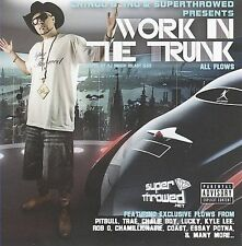 CHINGO BLING - Work In The Trunk [PA] CD ** BRAND NEW : STILL SEALED RARE **
