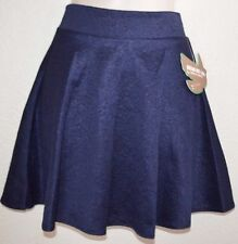 NEW CUTE! Dream Out Loud Navy Flower Pleated Dress Casual Skirt junior size L