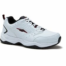 Avia US Shoe Size 12 W Mens Cantilever Runner Athletic Wide Width White Sne