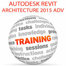 Autodesk Revit Architecture 2015 Advanced-Video Tutorial DVD de entrenamiento