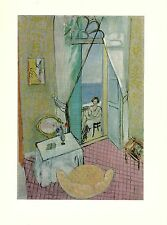 "1973 Vintage MATISSE ""INTERIOR AT NICE, GRAND INTERIEUR"" COLOR offset Lithograph"