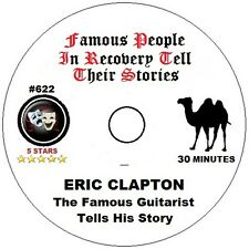 Alcoholics Anonymous AA 12 Step Speaker CD - Eric Clapton Tells His Story
