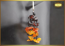 Lovely Mixed Natural Baltic Amber Earrings