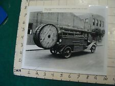 vintage AT&T related Photo: circa 1924 solid body truck #1633 repro