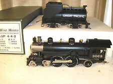 Rare S scale Brass SouthWind Models UP #3086 4-4-2 A-3, RUNS – C8+