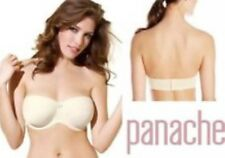 NEW Panache SPECIAL OCCASIONS Underwired Strapless Bra 36F 5210 £24 Ivory