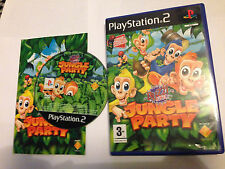 Buzz junior: Jungle fiesta para PS2 niños 3+ PAL rápido poste libre