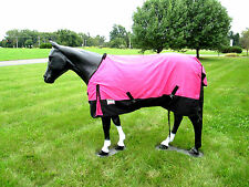 Horse Turnout  Sheet / Waterproof /   Ripstop / Hot Pink 69""