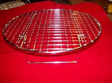 """Brand New Steamer/Cooling Rack Heavy Chrome Plated 10-1/2"""" Kitchen or Camp NICE!"""