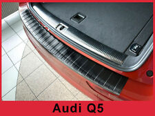 2006-2017 Audi Q5 - Graphite Stainless Steel Rear Bumper Protector Guard