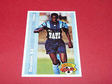 IBRAHIM IBOU BA LE HAVRE AC HAC DESCHAZEAUX FRANCE FOOTBALL CARD PANINI 1994