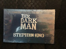 The Dark Man: AN ILLUSTRATED POEM by Stephen King  Slipcased EDition